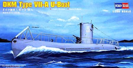 ドイツ海軍 Uボート 7Aプラモデル(ホビーボス1/350 艦船モデルNo.83503)商品画像
