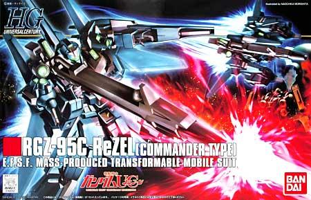 RGZ-95C リゼル (隊長機)プラモデル(バンダイHGUC (ハイグレードユニバーサルセンチュリー)No.108)商品画像