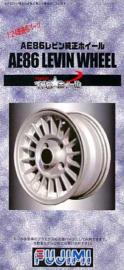 AE86 レビン 純正ホイールプラモデル(フジミTHE・ホイールNo.TW062)商品画像