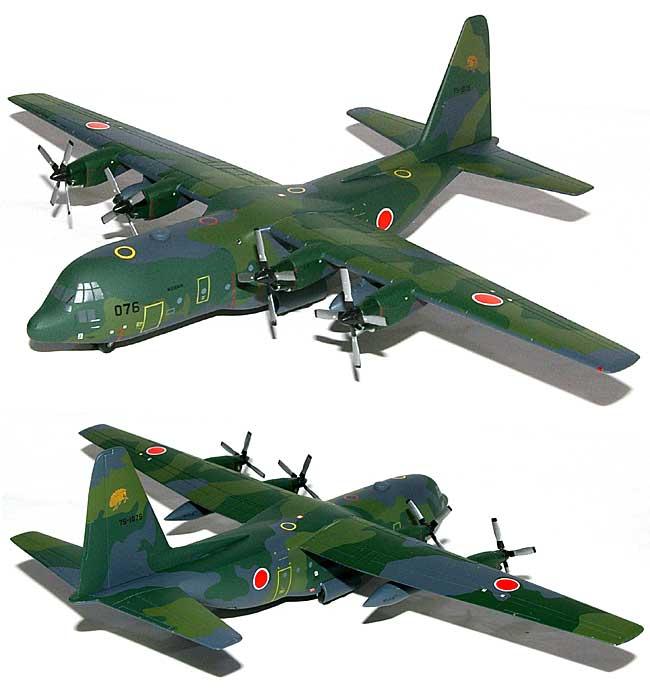 C-130H ハーキュリーズ 航空自衛隊 第1輸送航空隊 401SQ カモフラージュ完成品(ホーガンウイングス1/200 完成品モデルNo.6405)商品画像_1