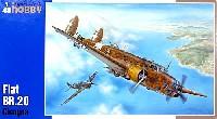 スペシャルホビー1/48 エアクラフト プラモデルイタリア フィアット BR.20 高速爆撃機
