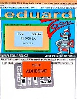 エデュアルド1/72 エアクラフト用 カラーエッチング ズーム (SS-X)レジアーネ Re.2000用 計器盤・シートベルト エッチングパーツ (接着剤付)