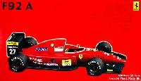 フジミ1/20 GPシリーズ SP (スポット)フェラーリ F92A (1992年後期型)
