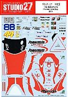 スタジオ27バイク オリジナルデカールドゥカティ GP9 PRAMAC RACING 2009 US GP (ラグナセカ & インディアナポリス)