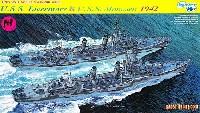 米海軍 駆逐艦 U.S.S リヴァモア & U.S.S モンセン 1942 (2隻セット)