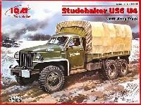 ICM1/35 ミリタリービークル・フィギュアロシア スチュードベイカー US6U4 トラック (幌タイプ + フロントウインチ付)