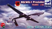ブロンコモデル1/48 エアクラフト プラモデルアメリカ 無人偵察機プレデター MQ/RQ-1