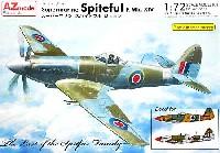 AZ model1/72 エアクラフト プラモデルスーパーマリン スパイトフル Mk.14 スペシャル マーキング