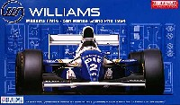フジミ1/20 GPシリーズウィリアムズ FW16 1994年 サンマリノGP仕様