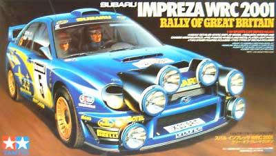 スバル インプレッサ WRC 2001 ラリー・オブ・グレート・ブリテンプラモデル(タミヤ1/24 スポーツカーシリーズNo.250)商品画像