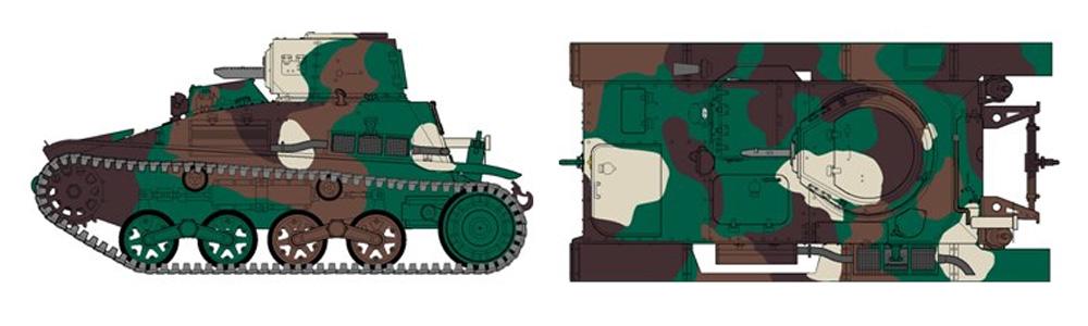 帝国陸軍 九四式軽装甲車 後期改修型プラモデル(ファインモールド1/35 ミリタリーNo.FM019)商品画像_1
