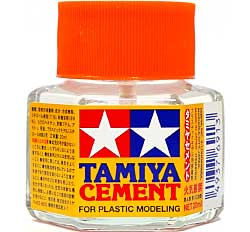 タミヤセメント (六角ビン)接着剤(タミヤメイクアップ材No.87012)商品画像