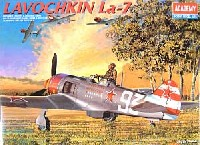 アカデミー1/48 Scale Aircraftsラボーチキン La-7