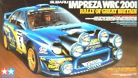 タミヤ1/24 スポーツカーシリーズスバル インプレッサ WRC 2001 ラリー・オブ・グレート・ブリテン