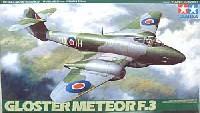 タミヤ1/48 傑作機シリーズグロスター ミーティア F.3
