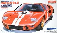 フジミ1/24 ヒストリックレーシングカー シリーズフォード GT40 Mk.2  '67デイトナ24時間 3号車