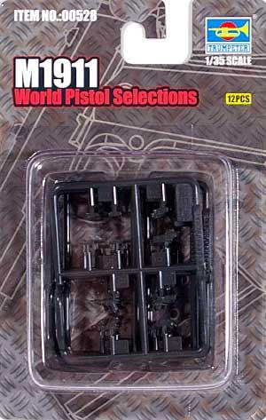 M1911プラモデル(トランペッター1/35 ウェポンシリーズNo.00528)商品画像