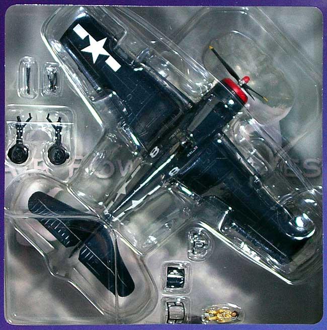 F6F-5 ヘルキャット USS ツラギ完成品(ホビーマスター1/72 エアパワー シリーズ (レシプロ)No.HA1113)商品画像_1
