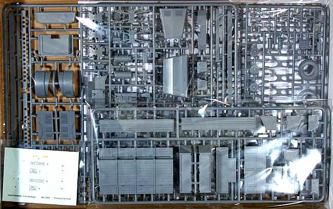 ドイツ アインハイツ ディーゼル 6輪カーゴトラック 金属パネル型プラモデル(IBG1/35 AFVモデルNo.35003)商品画像_1