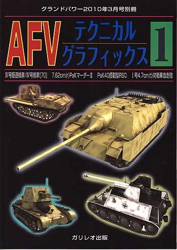 AFV テクニカルグラフィックス (1)別冊(ガリレオ出版グランドパワー別冊No.L-04/25)商品画像