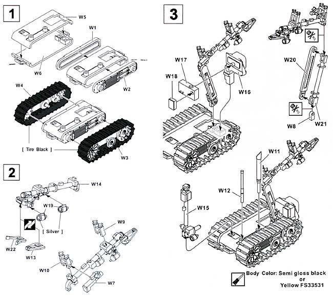 タロン ロボットプラモデル(AFV CLUB1/35 AC ディテールアップパーツNo.AC35010)商品画像_1