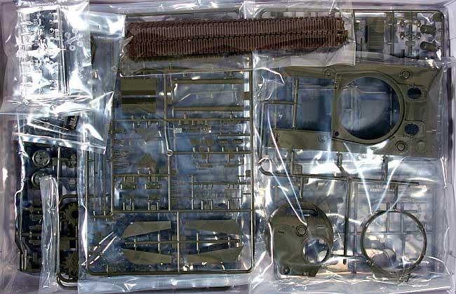 シャーマン 3 中期型 (鋳造製ドライバーズフードつき)プラモデル(アスカモデル1/35 プラスチックモデルキットNo.35-018)商品画像_1