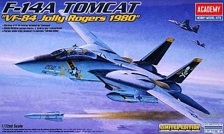 F-14A トムキャット VF-84 ジョリーロジャース 1980プラモデル(アカデミー1/72 Scale AircraftsNo.12426)商品画像