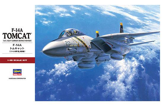 F-14A トムキャットプラモデル(ハセガワ1/48 飛行機 PTシリーズNo.PT046)商品画像