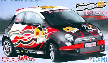 フィアット 500 WROOOMバージョン 2008年仕様 #01 ブラック・ボディプラモデル(フジミ1/24 リアルスポーツカー シリーズ (SPOT)No.123806)商品画像