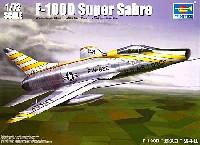 トランペッター1/72 エアクラフト プラモデルアメリカ空軍 F-100D スーパーセイバー