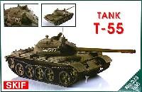 スキフ1/35 AFVモデルT-55 主力戦車 初期型
