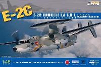 キネティック1/48 エアクラフト プラモデルE-2C ホークアイ 航空自衛隊 50周年記念塗装