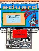 エデュアルド1/32 エアクラフト用 カラーエッチング ズーム (33-×)フォッケウルフ Fw190A-5 用 インテリア エッチングパーツ (接着剤付) (ハセガワ対応)