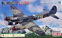 ミニクラフト1/144 軍用機プラスチックモデルキットユンカース Ju88A