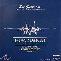 ウイッティ・ウイングス1/72 スカイ ガーディアン シリーズ (現用機)F-14A トムキャット VF-84 ジョリーロジャース AJ201