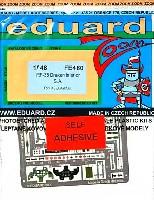 エデュアルド1/48 エアクラフト カラーエッチング ズーム (FE-×)RF-35 ドラケン 写真偵察機用 インテリア エッチングパーツ (接着剤付) (ハセガワ対応)
