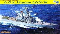 サイバーホビー1/700 Modern Sea Power Seriesアメリカ海軍 ミサイル巡洋艦 USSバージニア (CGN-38)