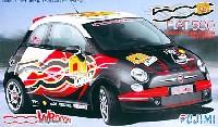 フジミ1/24 リアルスポーツカー シリーズ (SPOT)フィアット 500 WROOOMバージョン 2008年仕様 #01 ブラック・ボディ