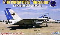 F-14D トムキャット VF-213 ブラックライオンズ ラストクルーズ ハイビジ/ロービジ