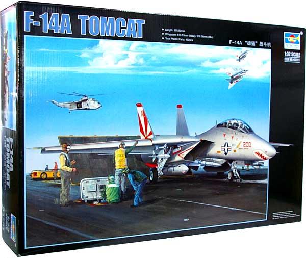 アメリカ空軍 F-14A トムキャットプラモデル(トランペッター1/32 エアクラフトシリーズNo.03201)商品画像