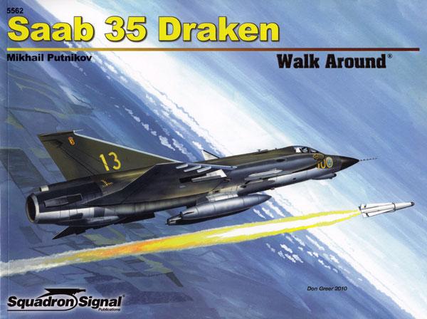 サーブ 35 ドラケン本(スコードロンシグナルウォークアラウンド シリーズNo.5562)商品画像