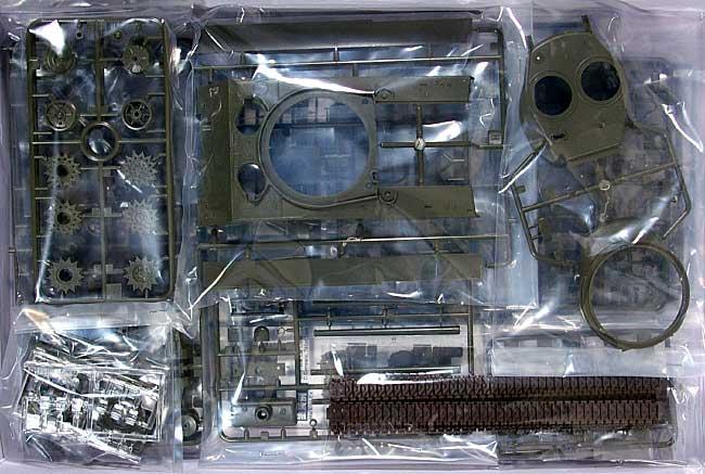 M4A3(76)W シャーマンプラモデル(アスカモデル1/35 プラスチックモデルキットNo.旧35-019)商品画像_1