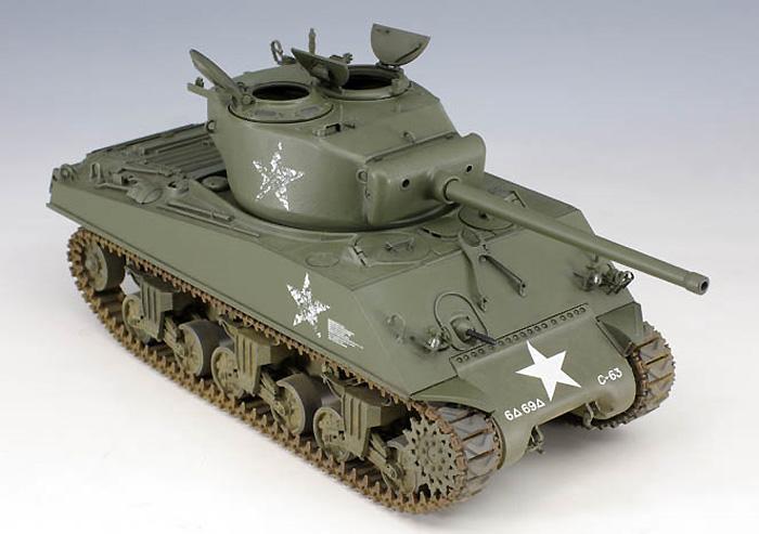 M4A3(76)W シャーマンプラモデル(アスカモデル1/35 プラスチックモデルキットNo.旧35-019)商品画像_3