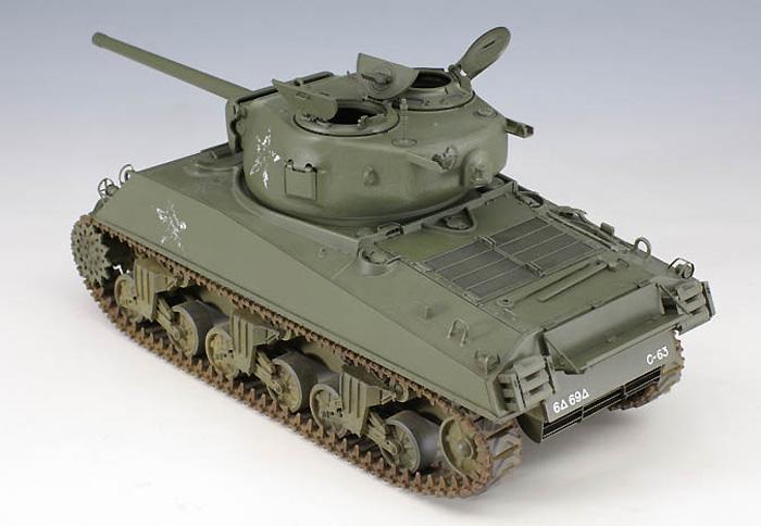 M4A3(76)W シャーマンプラモデル(アスカモデル1/35 プラスチックモデルキットNo.旧35-019)商品画像_4