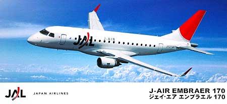ジェイ・エア エンブラエル 170プラモデル(ハセガワ1/144 航空機シリーズNo.Le001)商品画像