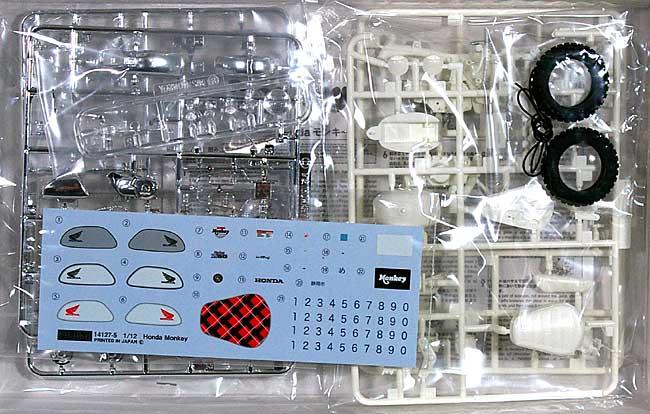 ホンダ モンキー (2009年)プラモデル(フジミ1/12 オートバイ シリーズNo.003)商品画像_1