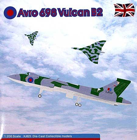 アブロ 698 バルカン B2 イギリス空軍 50SQ XJ823完成品(アブロモデルズダイキャスト製 エアプレーンモデルNo.AVRO002)商品画像