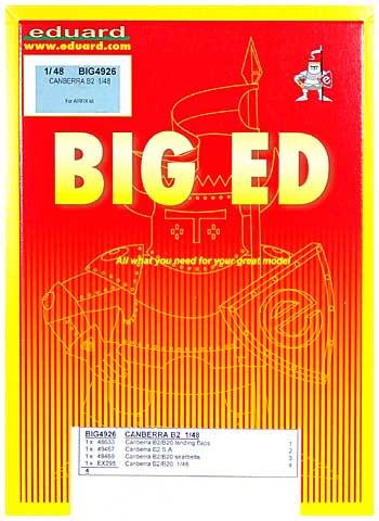 キャンベラ B2用 エッチングパーツセット (エアフィックス対応)エッチング(エデュアルド1/48 BIG ED (AIR)No.BIG-4926)商品画像