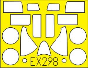F6F-5 ヘルキャット用 マスキングシート (ホビーボス対応)マスキングシート(エデュアルド1/48 エアクラフト用 エデュアルド マスク (EX-×)No.EX-298)商品画像_1