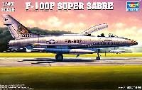 トランペッター1/48 エアクラフト プラモデルアメリカ空軍 F-100F スーパーセイバー